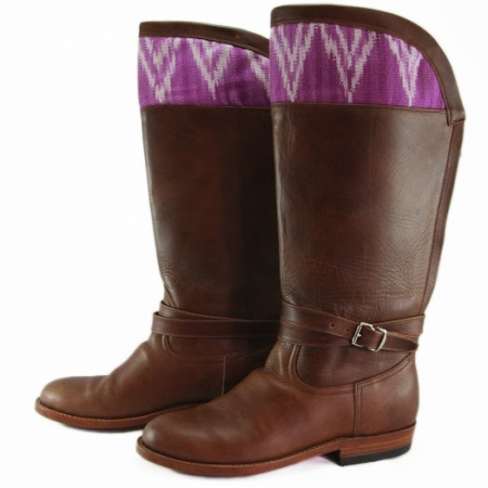 Cochinilla Hummingbird Boots by Kakaw Designs