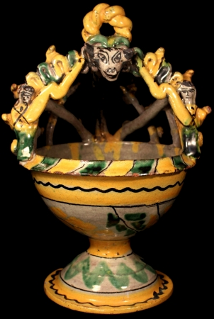 Old Ceremonial Incense Burner